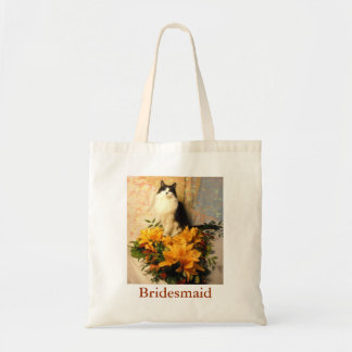 Bridesmaid Flowers Budget Tote Bag