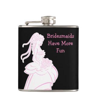 Bridesmaid Funny Flasks