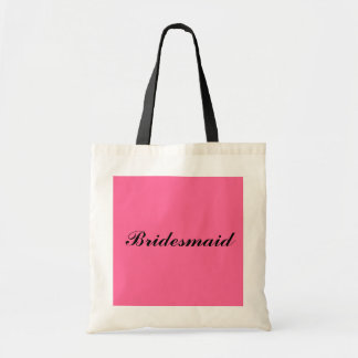 Bridesmaid gift tote