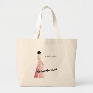 Bridesmaid Gifts Jumbo Tote Bag
