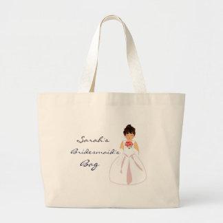 """Bridesmaid I"" Bag - Customizable Canvas Bag"