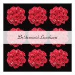 Bridesmaid Luncheon Invitation -- Bridal Roses