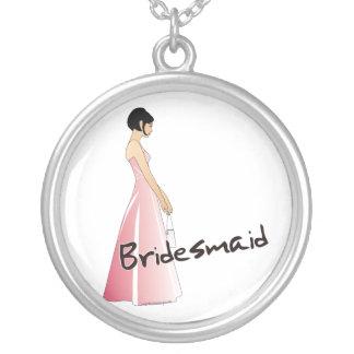 Bridesmaid Necklace Pendant
