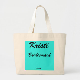 Bridesmaid Personalized Large Tote