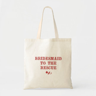 Bridesmaid Tote Apple Red