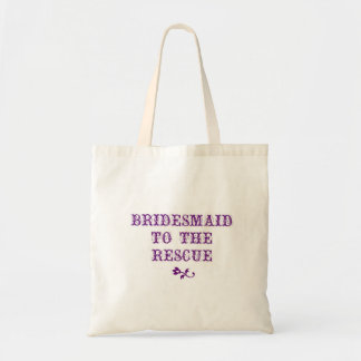 Bridesmaid Tote Purple