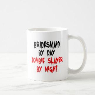 Bridesmaid Zombie Slayer Basic White Mug