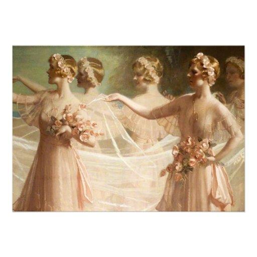 Bridesmaids Custom Announcements
