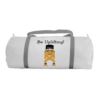 BRIDGE -- Be Uplifting! Gym Duffle Bag Gym Duffel Bag