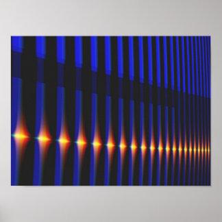 Bridge Cool Abstract Fine Fractal Art Poster