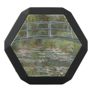 Bridge over a Pond of Water Lilies by Claude Monet Black Bluetooth Speaker