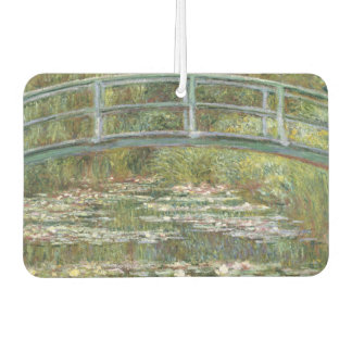 Bridge over a Pond of Water Lilies by Claude Monet Car Air Freshener