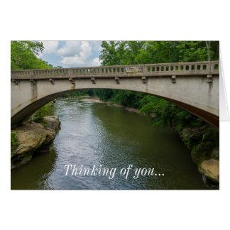 Bridge Over Sugar Creek Card