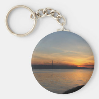 Bridge over the River Tagus at Sunset Key Ring