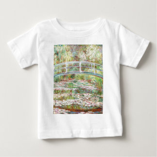 Bridge Over Water Lilies Pond - Claude Monet Baby T-Shirt