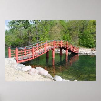 Bridge Over Water Print