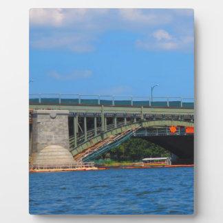 Bridge photo Boston America USA Plaque