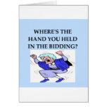 bridge player joke card