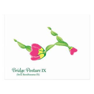 (Bridge Posture IX) Postcard