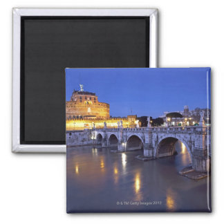Bridge Sant Angelo and Castel Sant Angelo at Magnet
