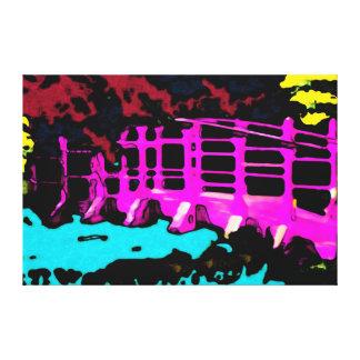 "Bridge Towards Future ~ Wrapped Canvas .75"" Modern"