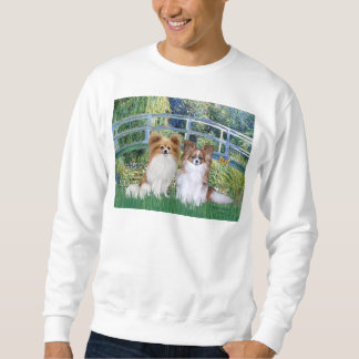 Bridge - Two Papillons Sweatshirt
