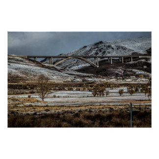 Bridge, Washoe Valley Print