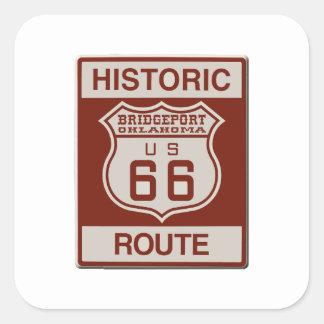 BRIDGEPORT66 SQUARE STICKER