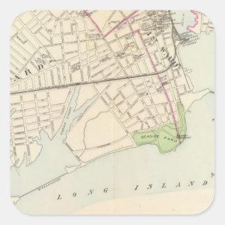Bridgeport, south square sticker