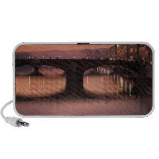 Bridges over the Arno River at sunset, 2 Speaker System