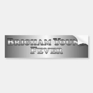Brigham Young Fever - Basic Bumper Sticker