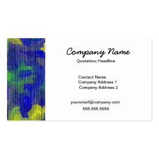 Bright & Abstract Business Pack Of Standard Business Cards