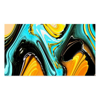 Bright Abstract Swirl Pack Of Standard Business Cards