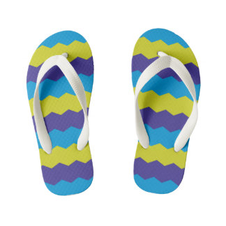 Bright Abstract Waves Thongs