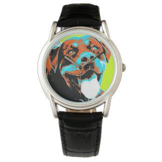 Bright and Fun Rottweiler Portrait Watch