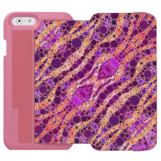 Bright Animal Print Funk Incipio Watson™ iPhone 6 Wallet Case