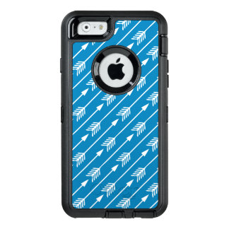 Bright Blue Arrows Pattern OtterBox iPhone 6/6s Case