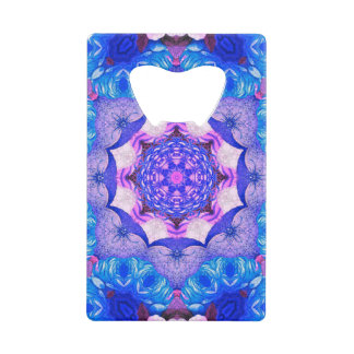 Bright Blue Pink Abstract Pattern