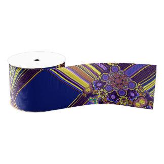 Bright Bohemian Boho Hippy Chic Pattern Grosgrain Ribbon