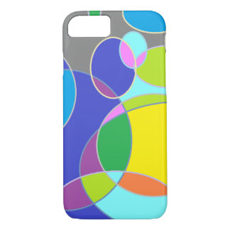 Bright Bubble Tangerine iPhone 7 Case