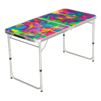 Bright Butterflies Ping Pong Pong Table