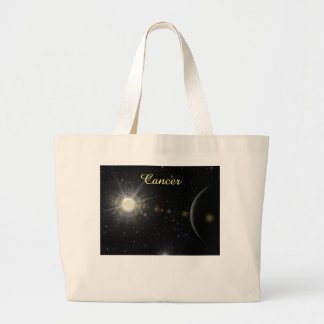 Bright Cancer Large Tote Bag