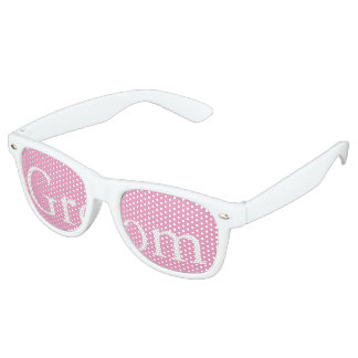 Bright Chalky Pastel Magenta Wedding Party Gifts Retro Sunglasses