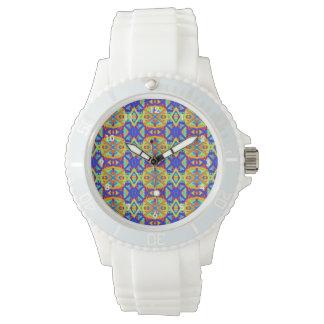 Bright Colors Fun Pattern Watch