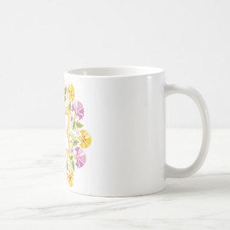 Bright Colors Mandala Custom Coffee Mug