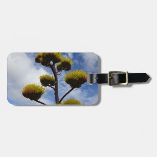 "Bright Desert Agave Says ""Here I Am!"" Luggage Tag"