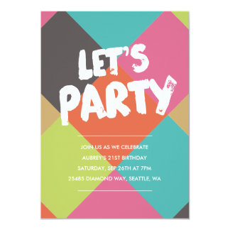 Browse Zazzle 21st Birthday invitation templates and customise with your own text, photos or designs.