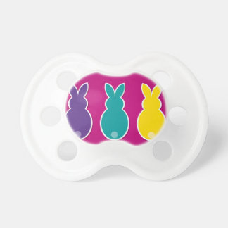 Bright Easter Bunny Silhouette Dummy