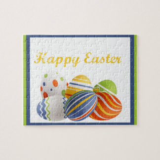 Bright Easter Eggs Jigsaw Puzzle