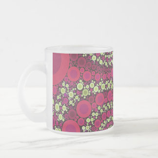 Bright Florescent Crazy Abstract Coffee Mugs